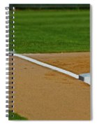 Foul Up The Line Spiral Notebook