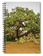 Founders Oak Spiral Notebook