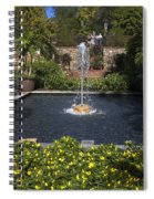 Fountain And Peppers Spiral Notebook