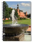 Fountain And Union Spiral Notebook