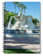 Fountain At Rio Vista Spiral Notebook