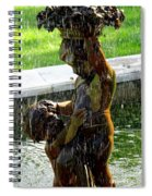 Fountain Cherubs Spiral Notebook