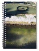Fountain Closeup Spiral Notebook