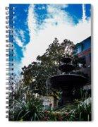 Fountain In Downtown Charleston Spiral Notebook
