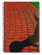 Fountain In The Park Spiral Notebook