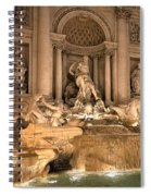 Fountain Lights Spiral Notebook
