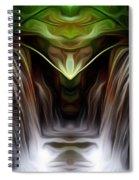 Fountain Of Joy Spiral Notebook