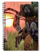 Fountain Of Life Spiral Notebook