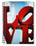 Fountain Of Love  Spiral Notebook
