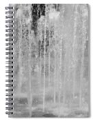 Fountain Play One Spiral Notebook