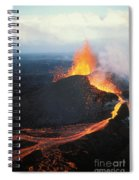 Fountaining Action Spiral Notebook