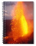 Fountaining Kilauea Spiral Notebook