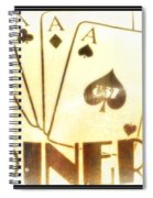 Four Aces Diner Spiral Notebook