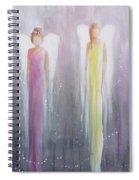 Four Angels Spiral Notebook