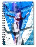 Four Blue Angels Spiral Notebook