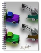 Four By Four Spiral Notebook