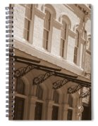 Four Corners In New Orleans Spiral Notebook