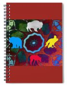 Four Directions   -009 Spiral Notebook