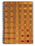 Four Eggplant Fruits Abstract Spiral Notebook