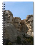 Four Former U S Presidents Spiral Notebook