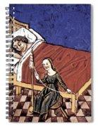 Four Humors: Melancholia Spiral Notebook