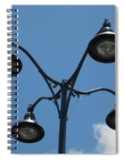 Four Lamps Spiral Notebook