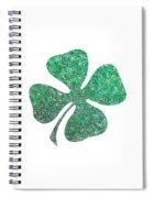 Four Leaf Clover Spiral Notebook