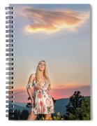 Four Mile Road 1 Spiral Notebook