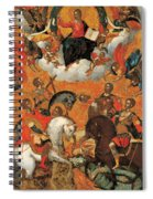 Four Military Saints Spiral Notebook