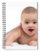 Four Month Old Baby Boy Spiral Notebook