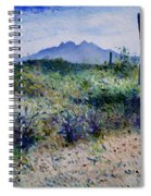 Four Peaks Phoenix Arizona Usa 2003  Spiral Notebook