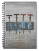 Four Pipes Spiral Notebook