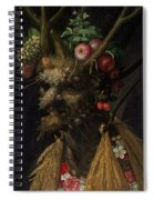 Four Seasons In One Head Spiral Notebook