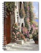 four seasons- spring in Tuscany Spiral Notebook