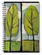 Four Seasons Tree Series Spiral Notebook