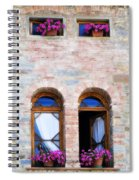 Four Windows Spiral Notebook