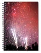 Fourth Of July Spiral Notebook