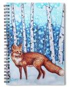 Fox Forest Spiral Notebook