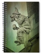 Fox Grotesque Spiral Notebook