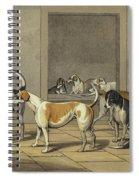 Fox Hounds Spiral Notebook