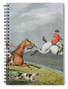 Fox Hunting - Full Cry Spiral Notebook