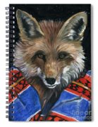 Fox Medicine Spiral Notebook