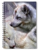Fox Moods Spiral Notebook