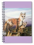 Foxes   Fundamental Foresight Foundation  Spiral Notebook