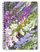 Foxglove Card Spiral Notebook