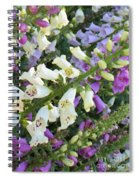 Foxglove Fancy Spiral Notebook