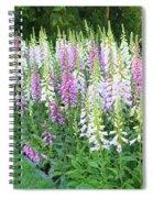Foxglove Garden Spiral Notebook