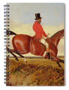 Foxhunting - Clearing A Bank Spiral Notebook