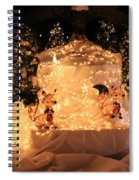Foxy Christmas Decoration Spiral Notebook