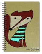 Foxy Moxy Spiral Notebook